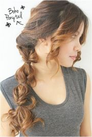flowing diy boho hairstyles