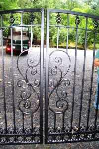 Wrought Iron Gates Design