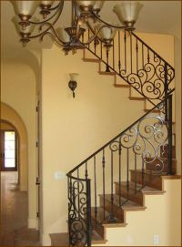 Best 25+ Iron stair railing ideas on Pinterest | Wrought ...