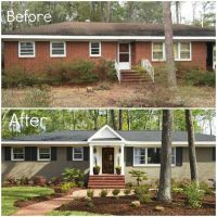 Does Painting Exterior Brick Devalue Home. painting ...