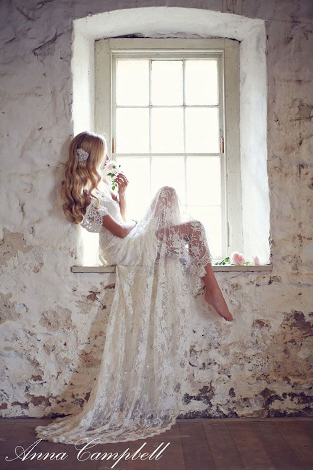 lace and light – perfect shot by 35 mm Wedding Photography.. really thinking about an all lace backless dress