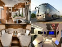 Customised luxury mobile homes: Politicians' new ...