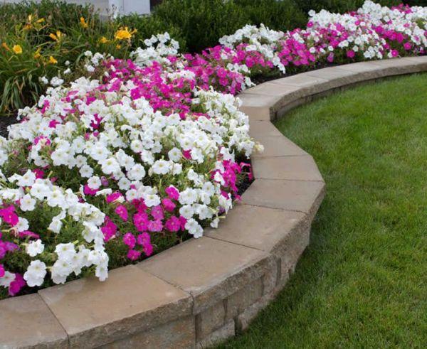 paver landscaping retention walls