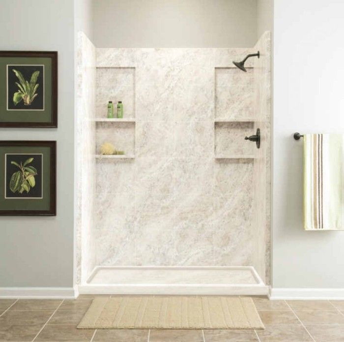 Cultured Marble Shower Home Decor