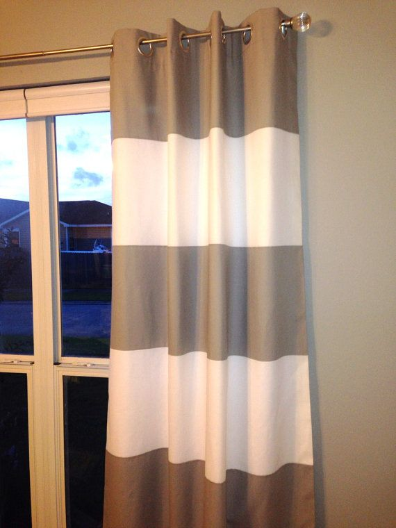 The 25 Best Ideas About Horizontal Striped Curtains On Pinterest