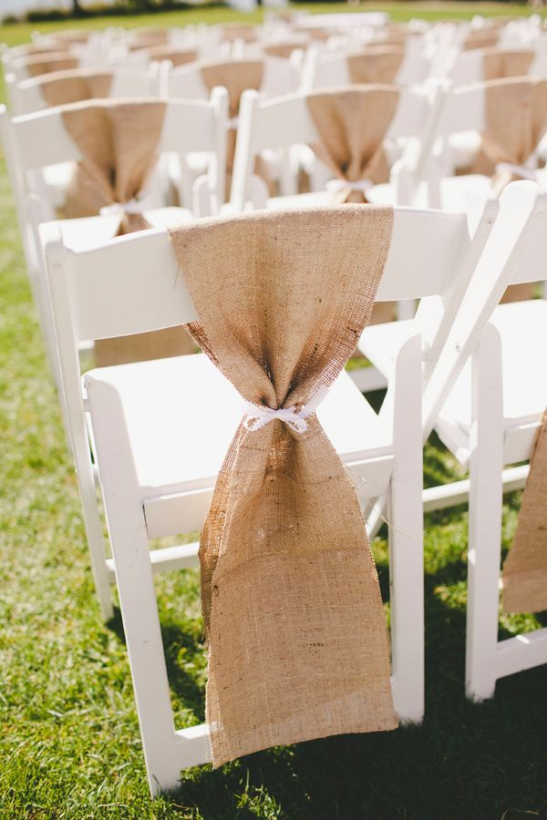 folding chair picnic table covers wedding venue 25+ best ideas about burlap sashes on pinterest | rustic outdoor chairs, ...