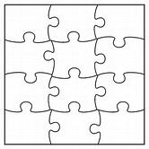 1000+ ideas about Puzzle Piece Template on Pinterest