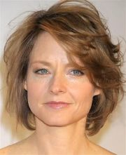 short hairstyles over 50 60 - layered haircut women