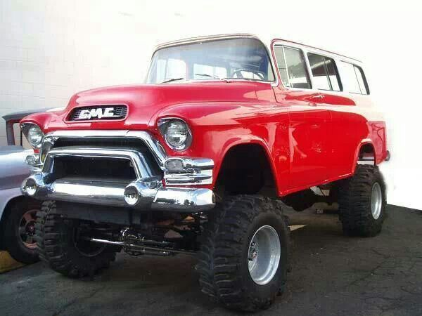 1950 Chevy 4x4 Lifted