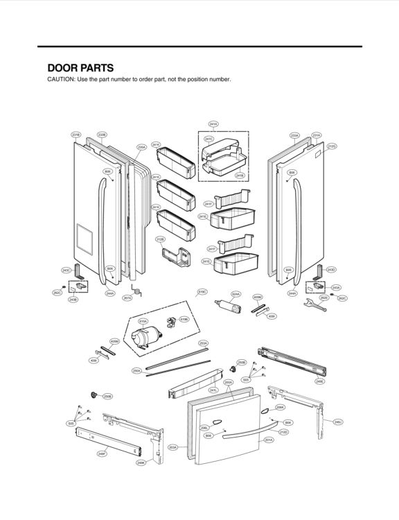 25+ best ideas about Lg Refrigerator Parts on Pinterest
