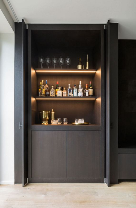 25 best ideas about Built in bar on Pinterest  Coffee