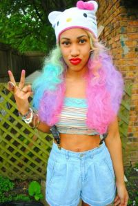 Black girls/Dyed Hair. | Swag | Pinterest | Pastel, Hair ...