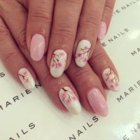 25+ best ideas about Cherry blossom nails on Pinterest ...