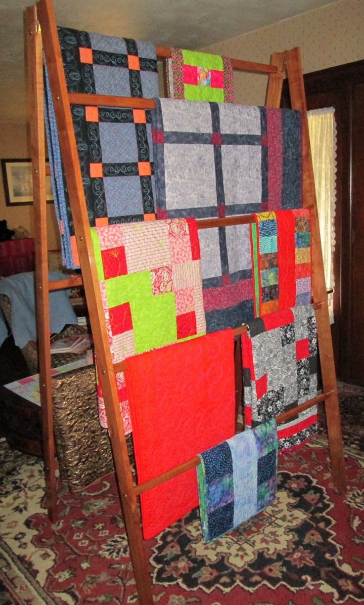 "84"" x 48"" Large Custom Quilt Display Rack"