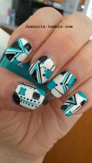nails - geometric