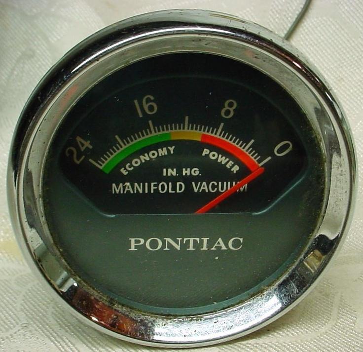 Pontiac Vacuum Gauge