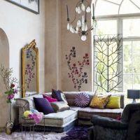 net vignette: Living Room Inspiration: Bohemian, Feminine ...