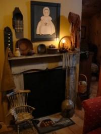 25+ best ideas about Primitive fireplace on Pinterest