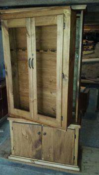Plans For Simple Gun Cabinet - WoodWorking Projects & Plans