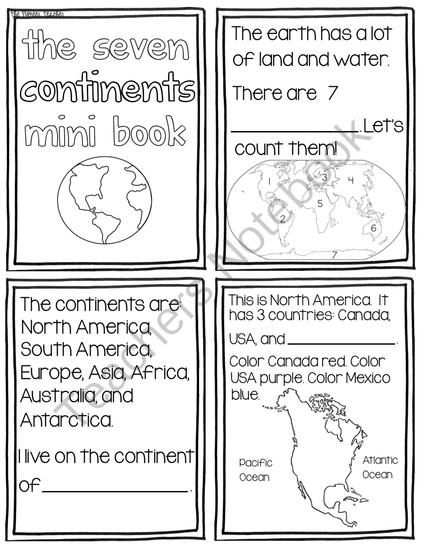 25+ best ideas about Continents activities on Pinterest