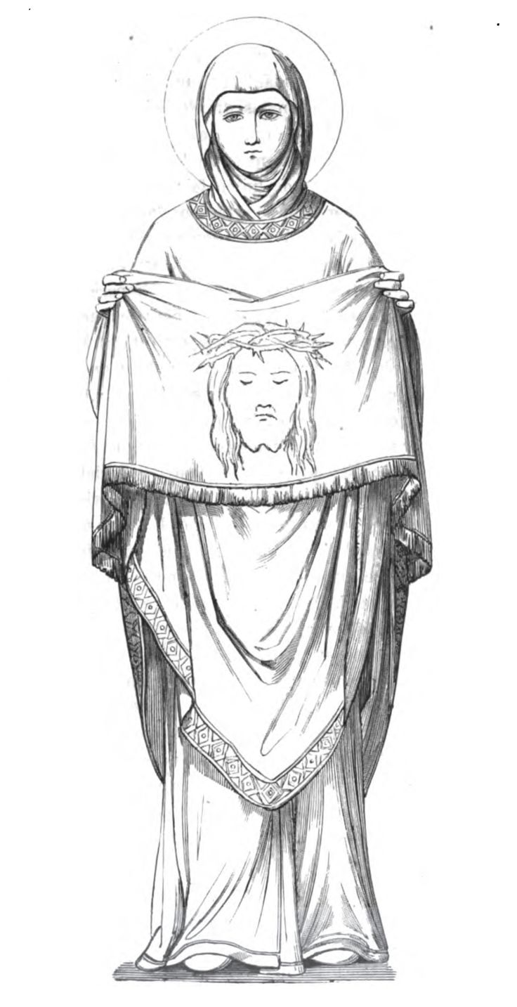 58 best images about St Veronica & Veil of Jesus on