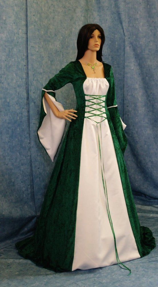 Medieval Ireland Clothing  celtic medieval handfasting