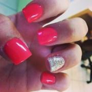 cute acrylic nails sparkles
