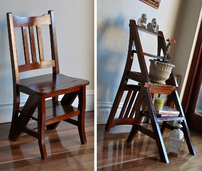 library chair ladder plans car in steel express folding wooden step stool woodworking projects