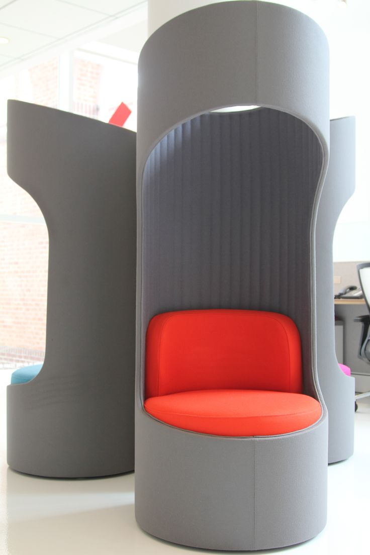 KIs Connection Zone privacy booths furniture seating