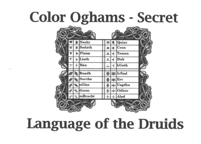 33 best images about Ogham on Pinterest