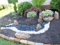 10 best images about front yard on Pinterest | River rock ...