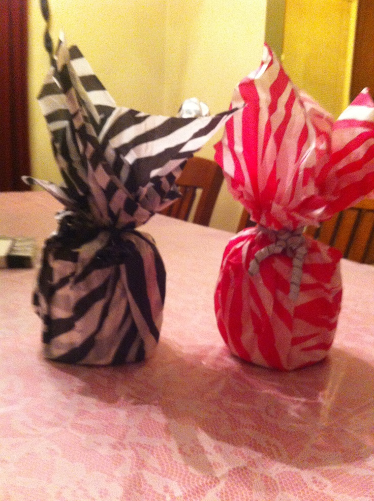 Do Yourself Party Centerpieces Tissue Paper And Toilet