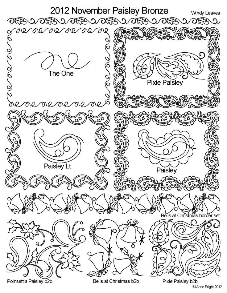 514 best images about Quilt stencil on Pinterest