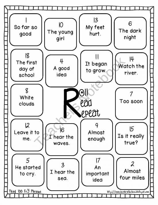 38 best First Grade-Fluency images on Pinterest