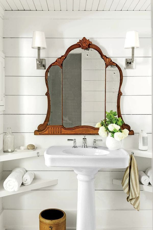 1000 ideas about Tiny Powder Rooms on Pinterest  Tiny half bath Tiny bathrooms and Small
