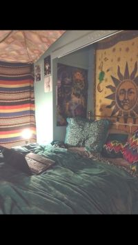 Hipster bedroom | Tumblr bedrooms | Pinterest | A well ...
