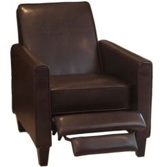 Darvis Leather Recliner Club Chair Brown Christopher Knight Home Tiger Oak Dining Chairs Lucas Great Deal Furniture Http://smile.amazon.com/dp ...