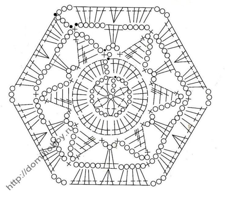 141 best images about Crochet Granny Chart on Pinterest