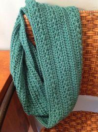 25+ best ideas about Crochet Infinity Scarves on Pinterest