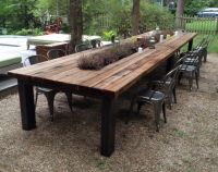 Reclaimed Wood Outdoor Furniture Rustic Outdoor Tables ...