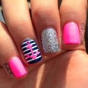 beautiful summer nail design 2014