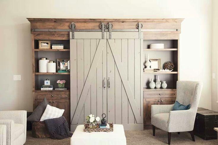 Sliding Barn Doors, Studios And Shelves On Pinterest