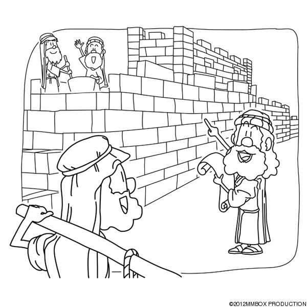 Image result for crafts nehemiah rebuilding wall
