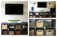 DIY Pallet entertainment center