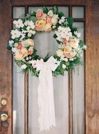 1000+ ideas about Wedding Wreaths on Pinterest | Wedding ...