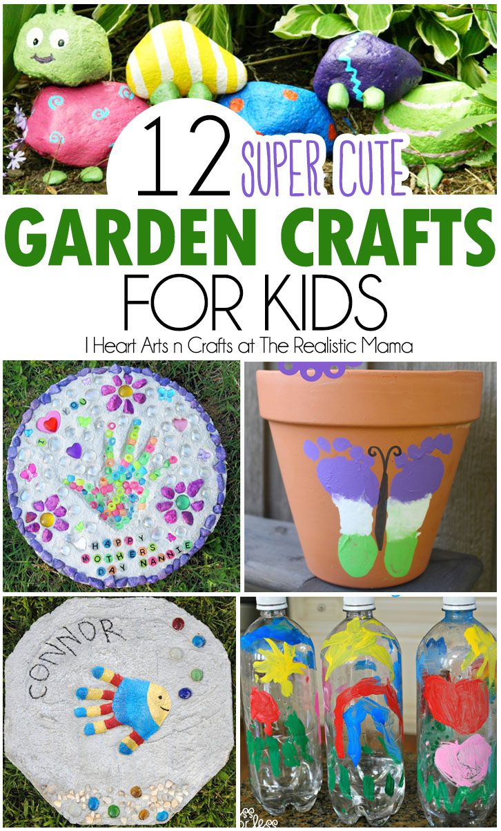 25 Best Ideas About Kids Garden Crafts On Pinterest Diy Yard
