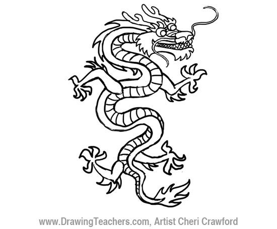 1000+ ideas about Chinese Dragon Tattoos on Pinterest