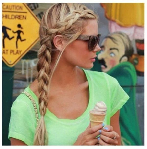 30 Braided Hairstyles For Pool Hairstyles Ideas Walk The Falls