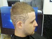 mens hair design cool hairstyle