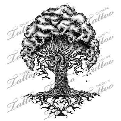 20 Whimsicle Tree Viking Tattoos Ideas And Designs